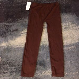 Brown leggings - NWT